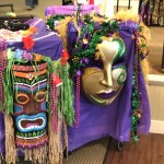 The gorgeous floats made by Bayada.