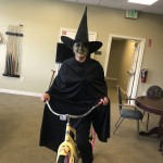 The Wicked Witch rode her bike into Oz asking why she wasnt invited to lunch!
