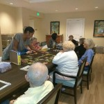 Gardens Residents from The Fountains at Boca Ciega Bay enjoying fun activities.