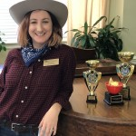 Lisa Knipe, our Resident Relations Director, was surely eyeing those trophies!