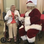 Special meeting with Santa
