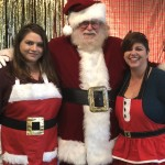 Community Life Directors Lisa & Melissa didn't forget to meet with Santa too!