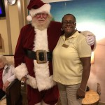 Santa even stopped to say hello to many of our associates as he headed back to his sleigh