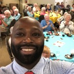 Dining Room Manager, Ray, loves taking selfies with the crowd!