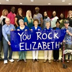 Our Fountains residents and associates wore blue to support Elizabeth and Autism Awareness Day.
