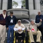Our Veterans at the WWII Memorial in the Atlantic Theater