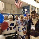 Our residents welcoming home our fellow resident veterans.