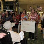 Family for many were there to welcome their loved ones home!