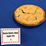 Warm Butter Rum Apple Pie
