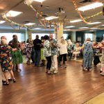 Residents and associates danced the whole afternoon away!