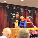 Vickie's Paradise Parrot Show and her Doggie Parrot doing some amazing tricks!