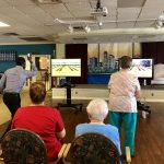 Wii bowling Tournament: Residents vs Associates. Residents won by a landslide!