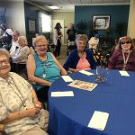 Residents enjoyed the food, music and above all, had fun!