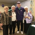 These lovely residents cornered Dick for this perfect photo! They are great supporters of his and of Ending Alzheimer's