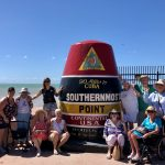Group photo at the Southernmost Point of the United States