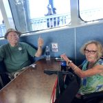On the Key West Express home!