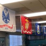 Our flags for the branches of service