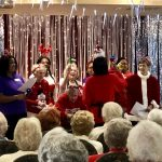 The Gardens' Jinglers singing Jingle Bells