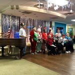 The Fountains Singers singing their 4 carols