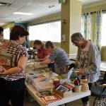 Bayada Home Health spent a lot of time at the card table, browsing the homemade cards from the residents!